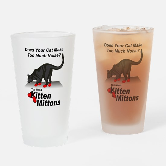 KittenMittons Drinking Glass