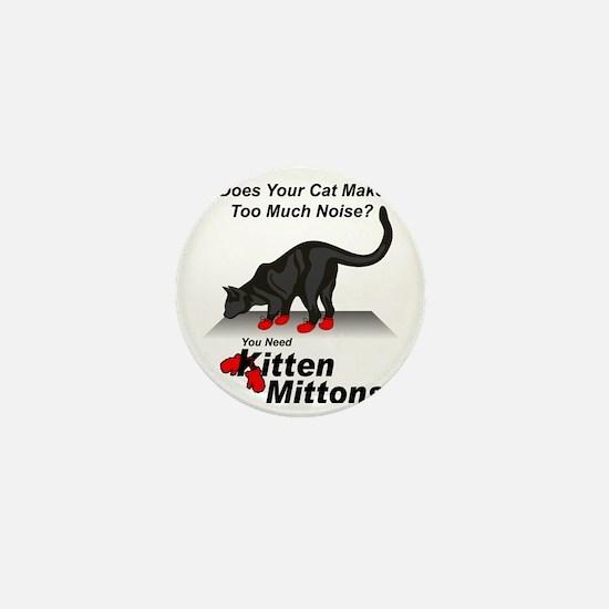 KittenMittons Mini Button