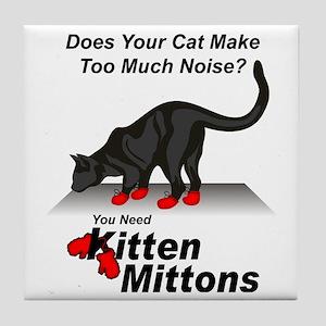 KittenMittons Tile Coaster