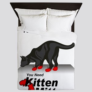 KittenMittons Queen Duvet