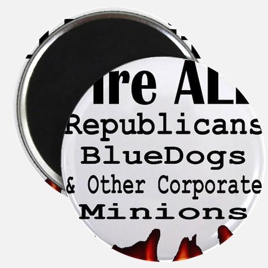 Fire ALL Republicans Magnet