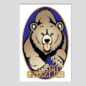 Grizzlies Postcards (Package of 8)