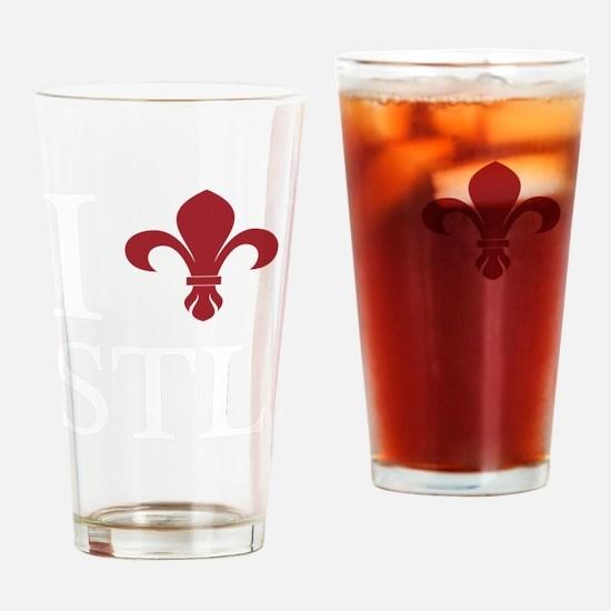 ifrenchstlWHITE Drinking Glass
