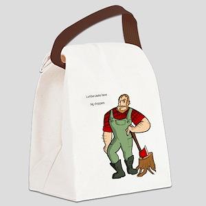 lumberjack Canvas Lunch Bag