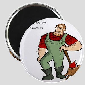 lumberjack Magnet