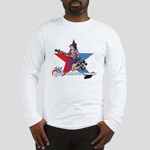 gap_girl_star_with_logo Long Sleeve T-Shirt