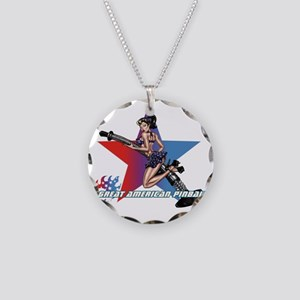 gap_girl_star_with_logo Necklace Circle Charm
