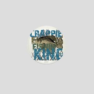 crappie fishing king Mini Button
