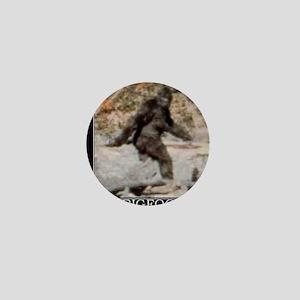 bigfoot-big-foot-hide-and-seek-demotiv Mini Button