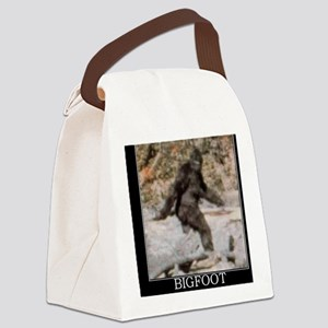 bigfoot-big-foot-hide-and-seek-de Canvas Lunch Bag