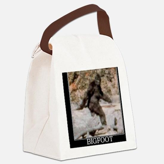 bigfoot-big-foot-hide-and-seek-de Canvas Lunch Bag