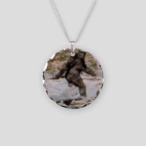 bigfoot-big-foot-hide-and-se Necklace Circle Charm