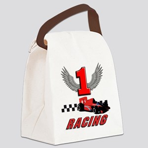 formula one racing car Canvas Lunch Bag