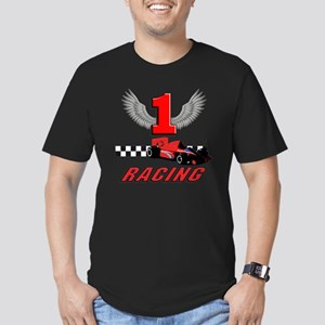 formula one racing car Men's Fitted T-Shirt (dark)