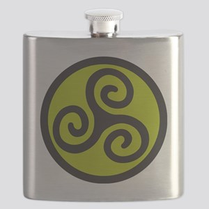 celtic tribal Flask