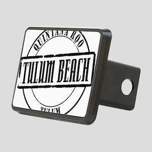 Tulum Beach Title W Rectangular Hitch Cover