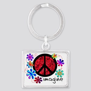 Imagine Peace 2011 Landscape Keychain