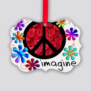 Imagine Peace 2011 Picture Ornament