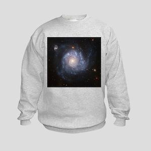 NGC 1309 Spiral Galaxy Kids Sweatshirt