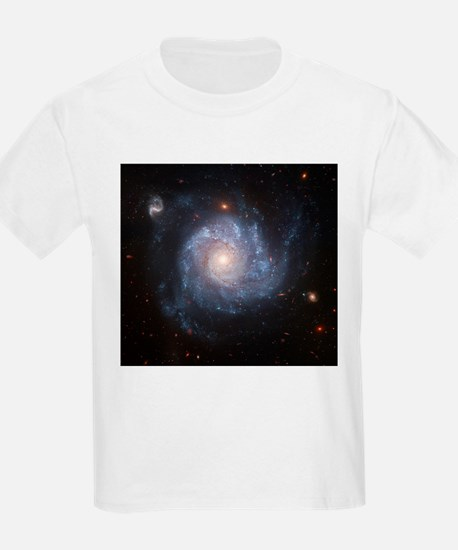 NGC 1309 Spiral Galaxy Kids T-Shirt