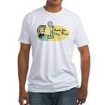 Shank You Very Much! Fitted T-Shirt