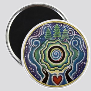 Earth Blessing Mandala Magnet