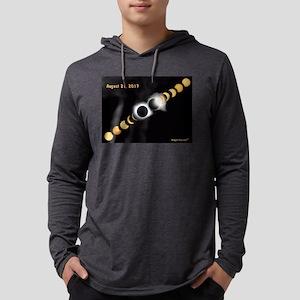 FF SOLAR ECLIPSE DATE Long Sleeve T-Shirt