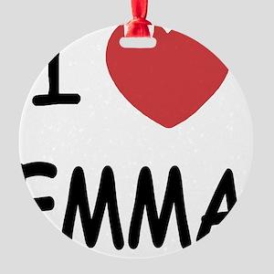 EMMA Round Ornament