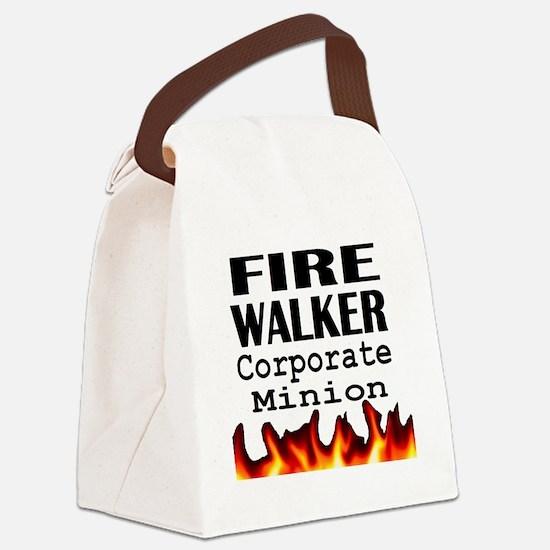 Fire Walker Corporate Canvas Lunch Bag