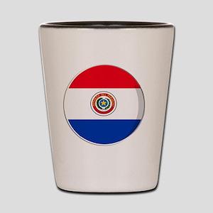 paraguay Shot Glass