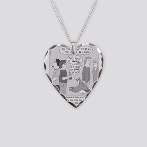 Party Grouse Necklace Heart Charm