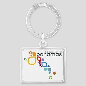 Bahamas Logo Landscape Keychain