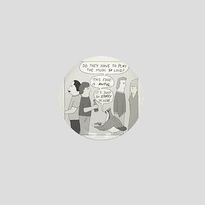 Party Grouse - no text Mini Button