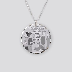 Party Grouse - no text Necklace Circle Charm