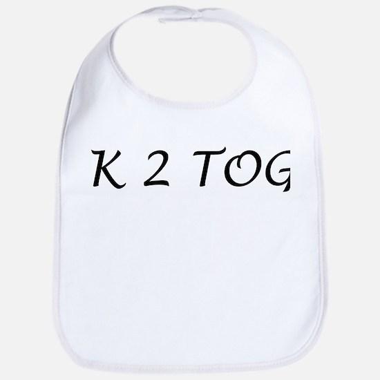 K 2 Tog Stitch - Bib