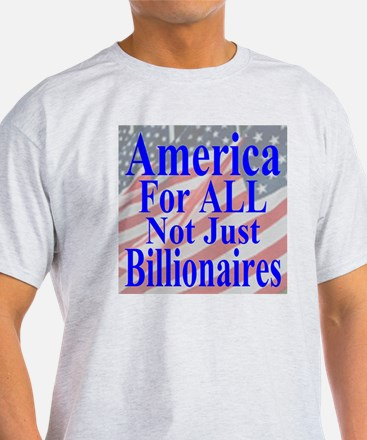 America for ALL 35  Flags  T-Shirt