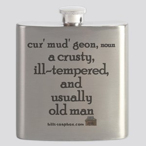 Curmudgeon large Flask