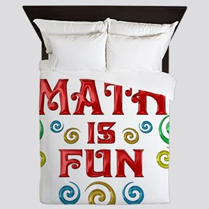 math Queen Duvet