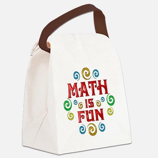 math Canvas Lunch Bag