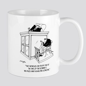 Crime Cartoon 5495 11 oz Ceramic Mug