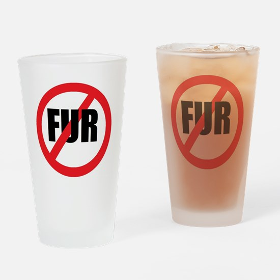 V-fur Drinking Glass