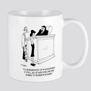 Divorce Cartoon 6485 11 oz Ceramic Mug