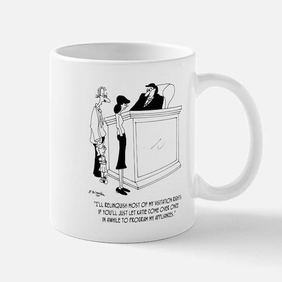 Divorce Cartoon 6485 Mug