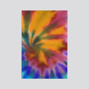 441 Tie-Dye4 Rectangle Magnet
