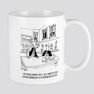 Exercise Cartoon 5311 11 oz Ceramic Mug