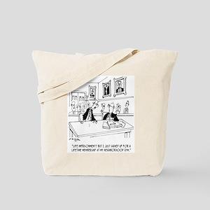 Exercise Cartoon 5311 Tote Bag