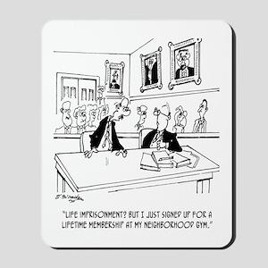 Exercise Cartoon 5311 Mousepad