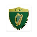 Ireland Metallic Shield Sticker