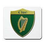 Ireland Metallic Shield Mousepad