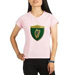 Ireland Metallic Shield Performance Dry T-Shirt
